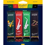 Vandoren Alto Saxophone Jazz Reed Mix Card