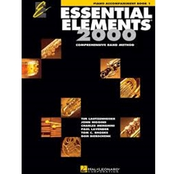 Essential Elements 2000 Piano Accompaniment Book 1