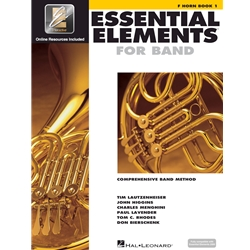Essential Elements for Band French Horn Book 1