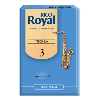 Rico Royal Tenor Sax Reeds - Box 10