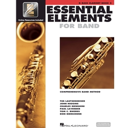 Essential Elements for Band Bass Clarinet Book 2
