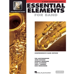 Essential Elements for Band Tenor Saxophone Book 2