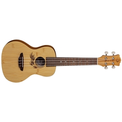 Luna Ukulele Bamboo Concert with Gig Bag