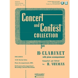 Rubank Concert and Contest Collection for Bb Clarinet